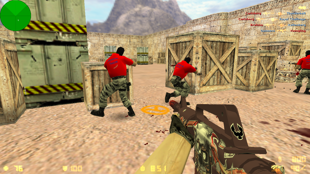 Скачать Counter-Strike 1.6 Serega Show