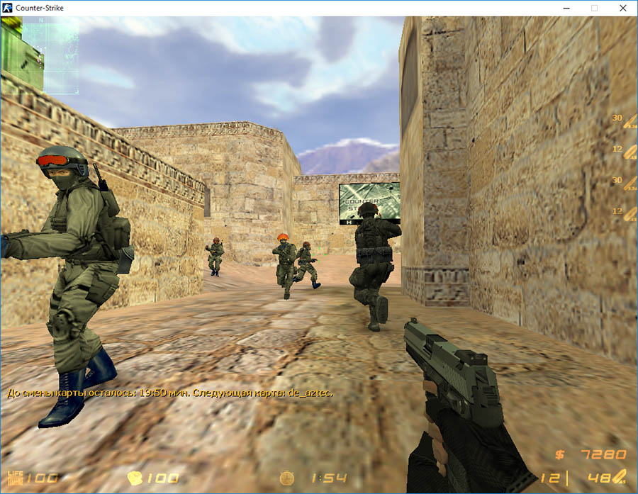 Скачать Counter-Strike 1.6 Sentry