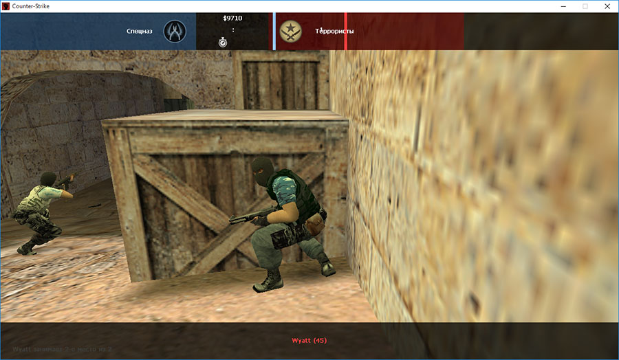 Скачать Counter-Strike 1.6 Revolution