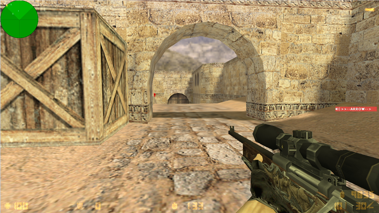 Скачать Counter-Strike 1.6 The Low