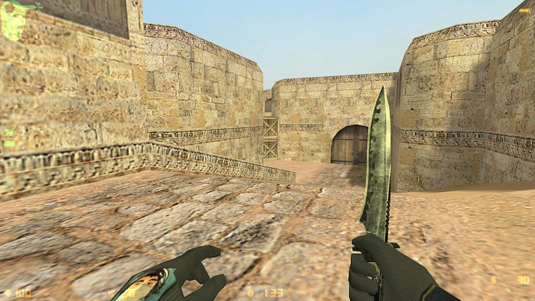 Скачать Counter-Strike 1.6 by FESS.PRO