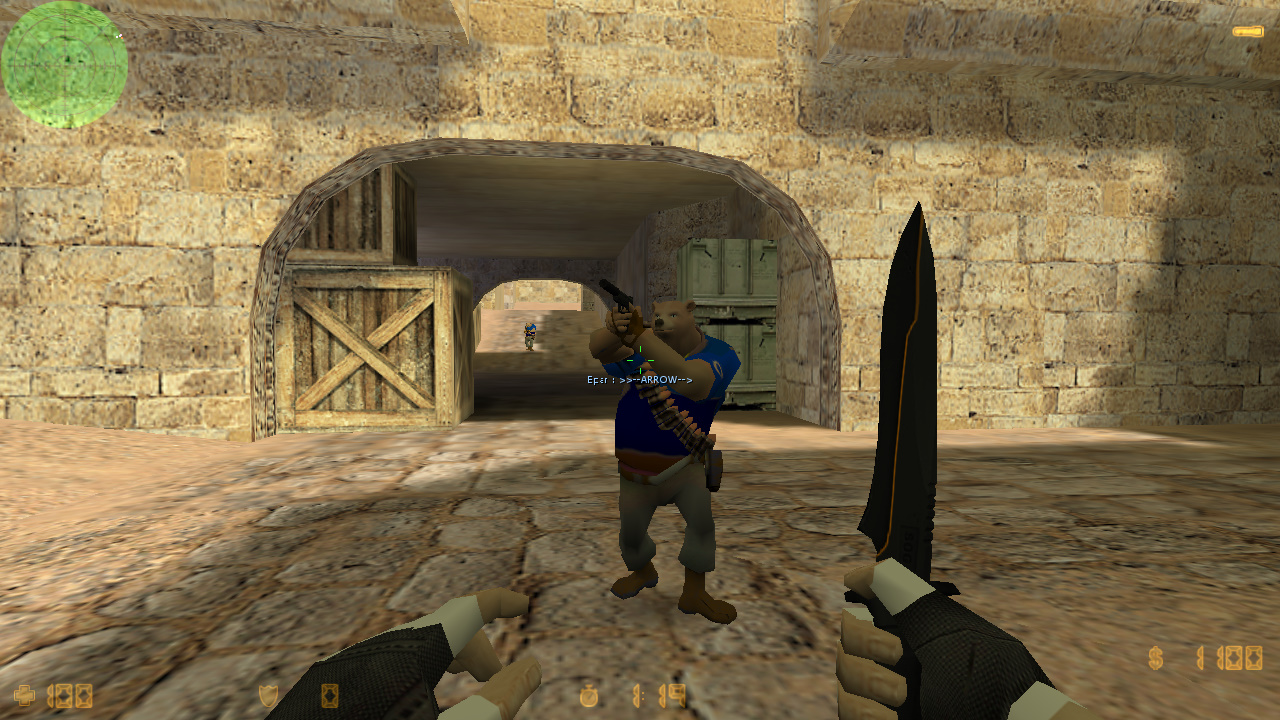Скачать Counter-Strike 1.6 Bear