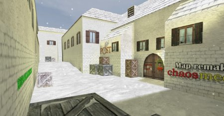 Скачать карту De_Inferno_Snow для CS 1.6