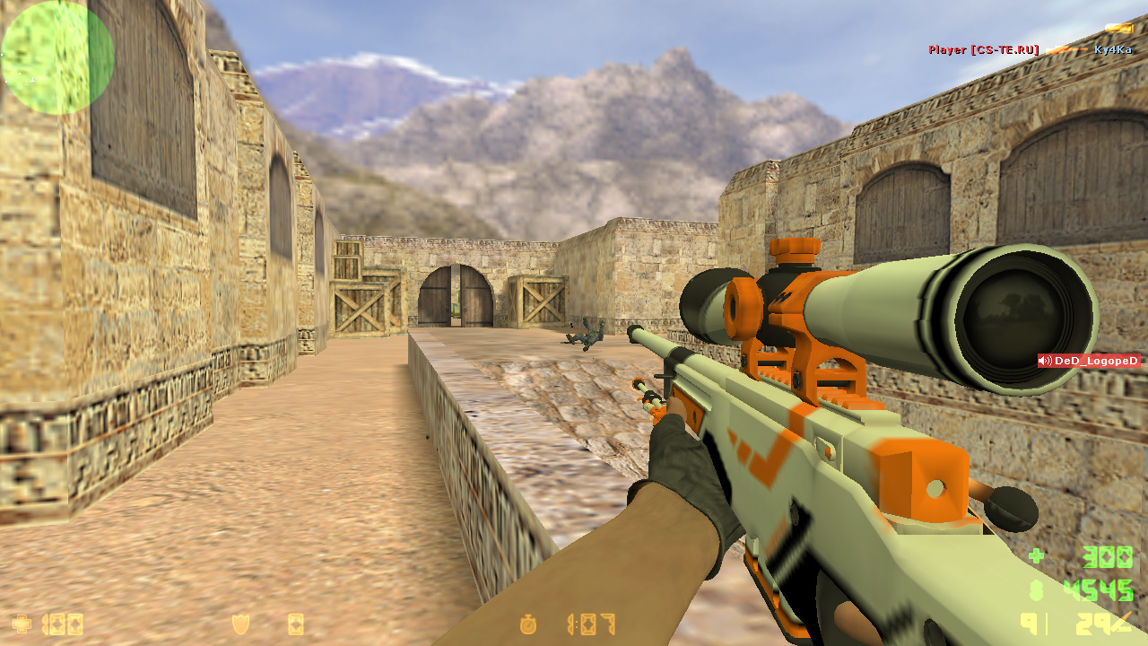 Скачать Counter-Strike 1.6 Asiimov