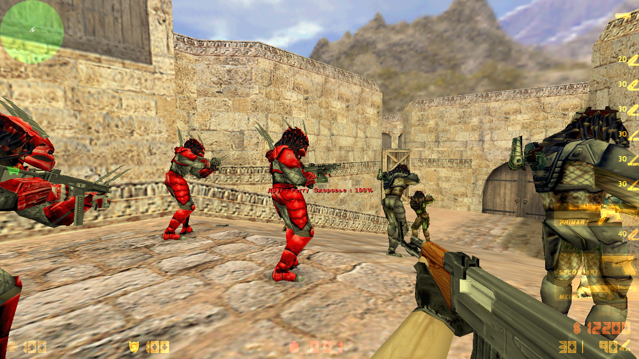 Скачать Counter-Strike 1.6 Aliens Vs Predator