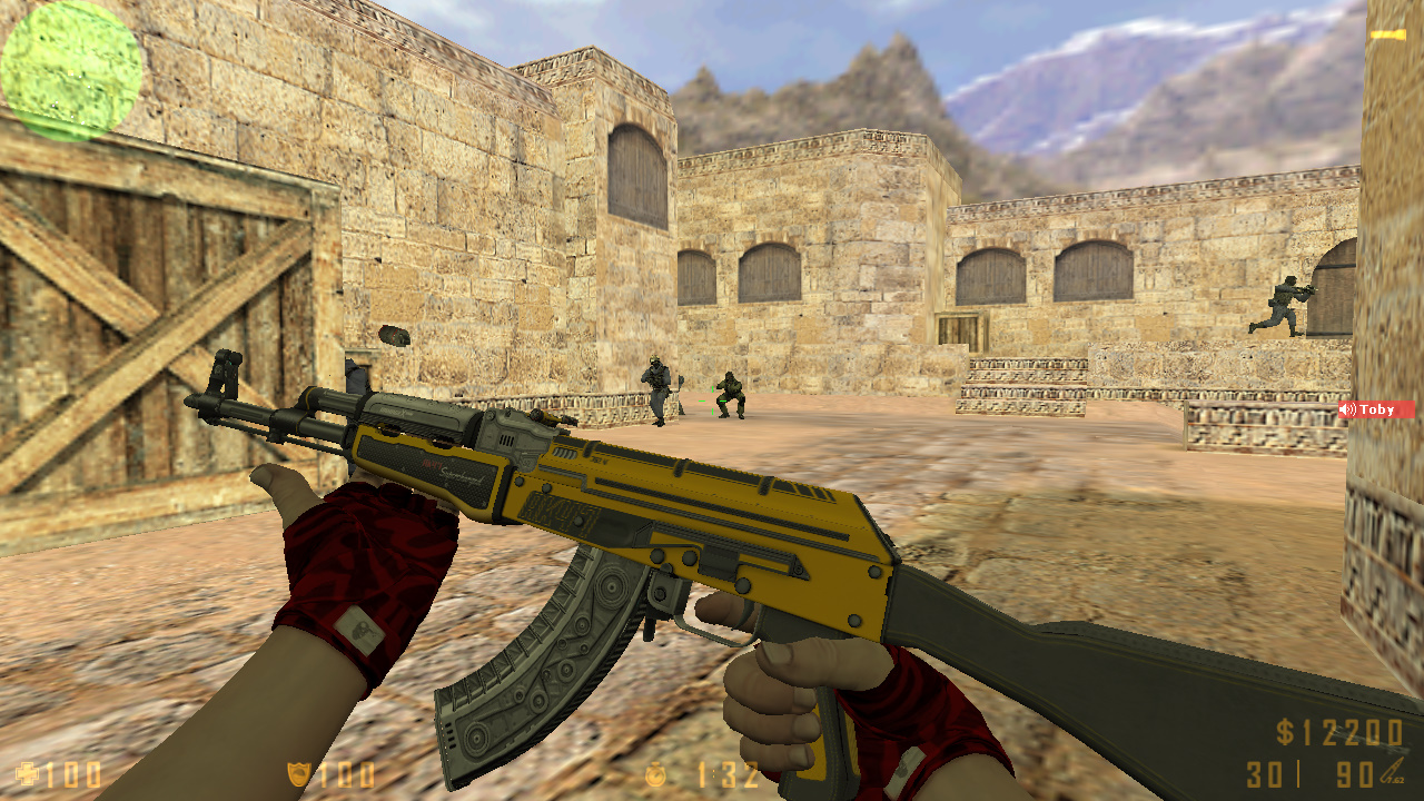 Скачать Counter-Strike 1.6 MEGA SKILL