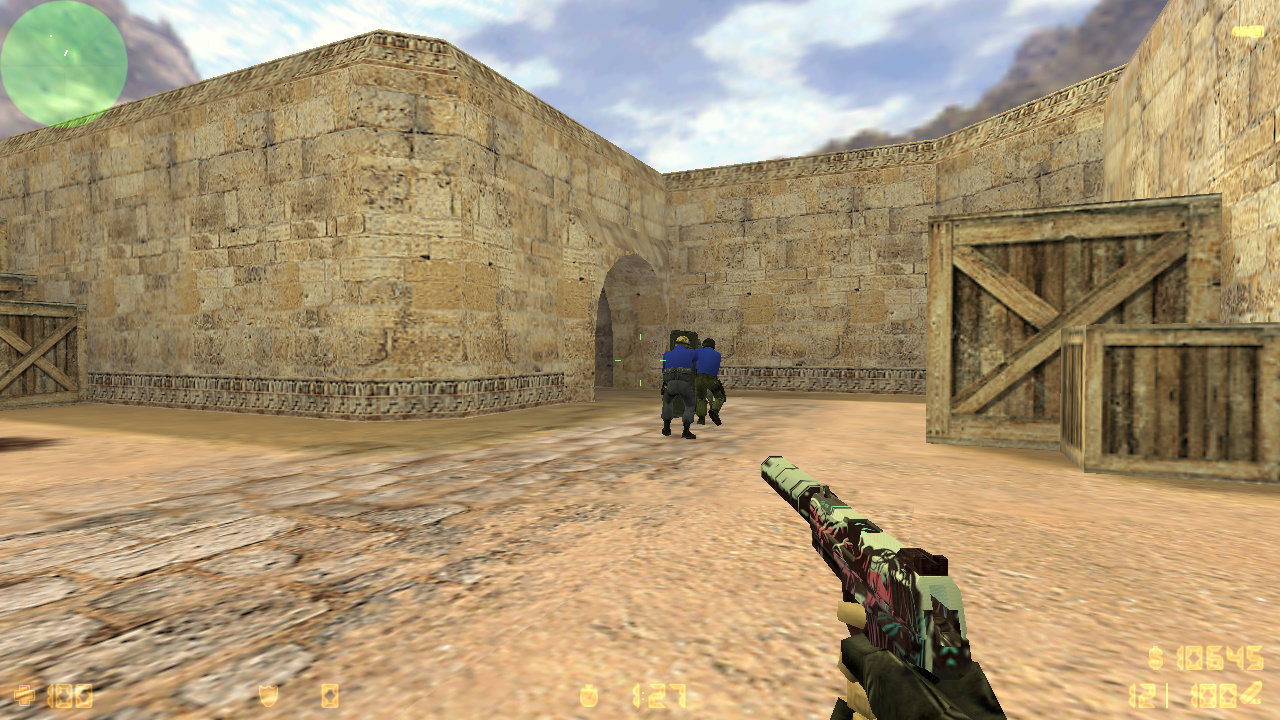 Скачать Counter-Strike 1.6 от CHET1337