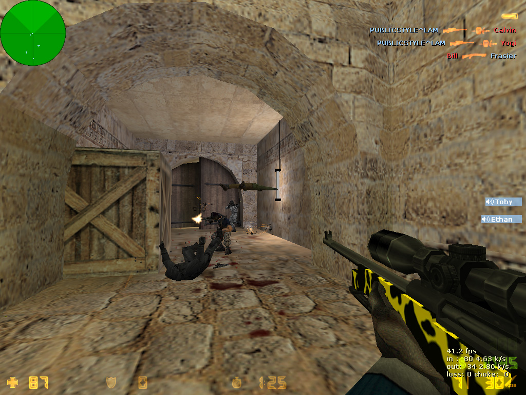 Скачать Counter-Strike 1.6 от LAMukraine