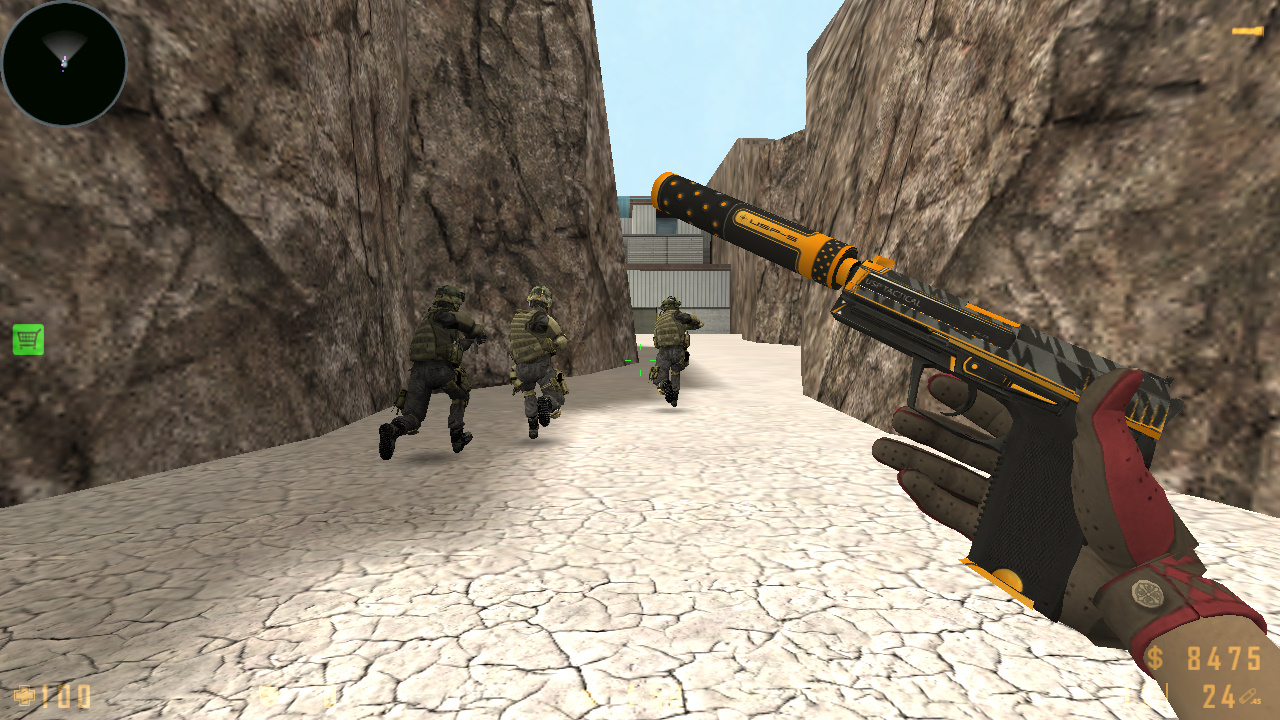 Скачать Counter-Strike 1.6 Survivor