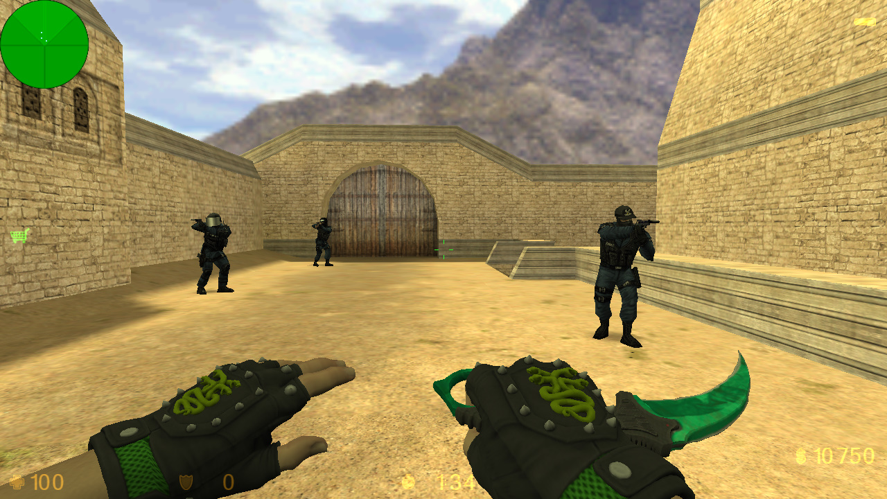 Скачать Counter-Strike 1.6 Hydra